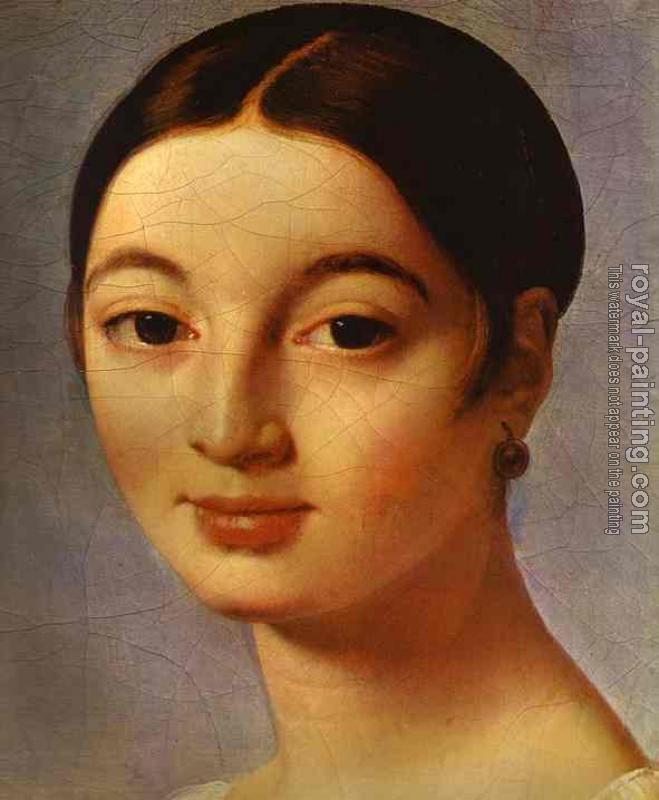 Jean Auguste Dominique Ingres : Portrait of Mademoiselle Riviere