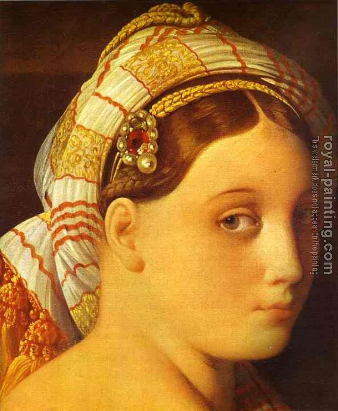Jean Auguste Dominique Ingres : The Grande Odalisque