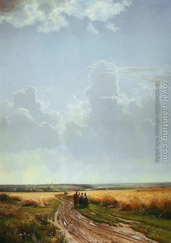 Ivan Shishkin : Noon Outskirts of Moscow