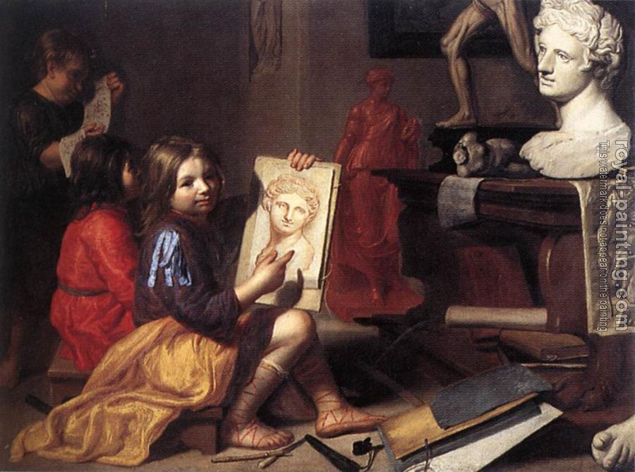 Jacob Van Oost The Elder : The Artists Studio