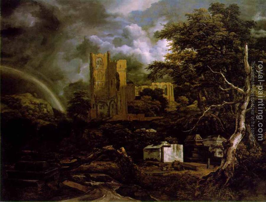 Jacob Van Ruisdael : The Jewish Cemetary II