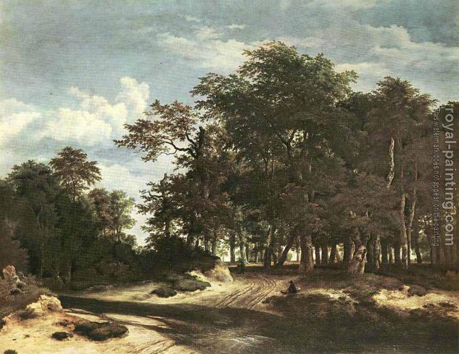 Jacob Van Ruisdael : The Large Forest