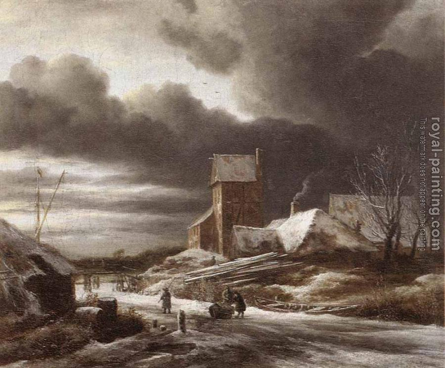 Jacob Van Ruisdael : Winter Landscape II
