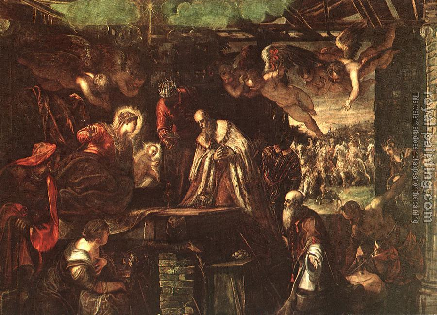 Jacopo Robusti Tintoretto : Adoration of the Magi