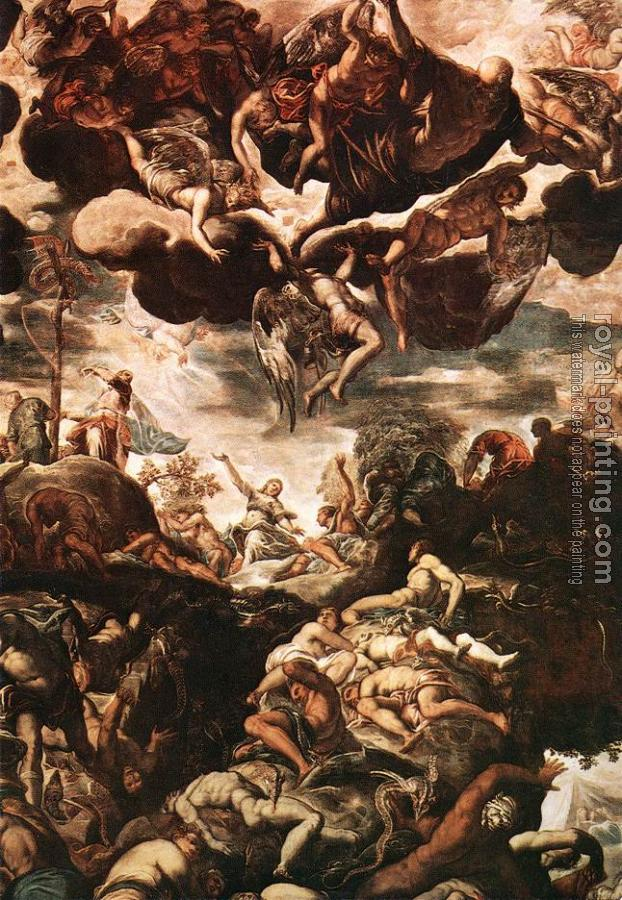 Jacopo Robusti Tintoretto : Brazen Serpent