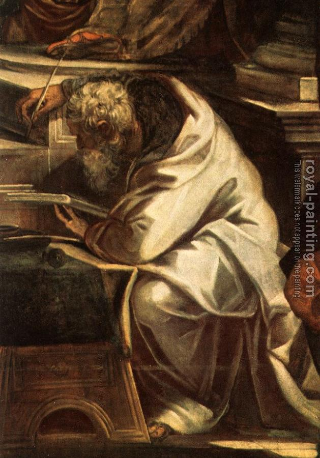Jacopo Robusti Tintoretto : Christ before Pilate detail