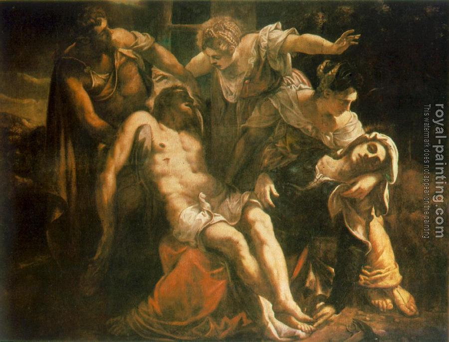 Jacopo Robusti Tintoretto : Descent from the Cross