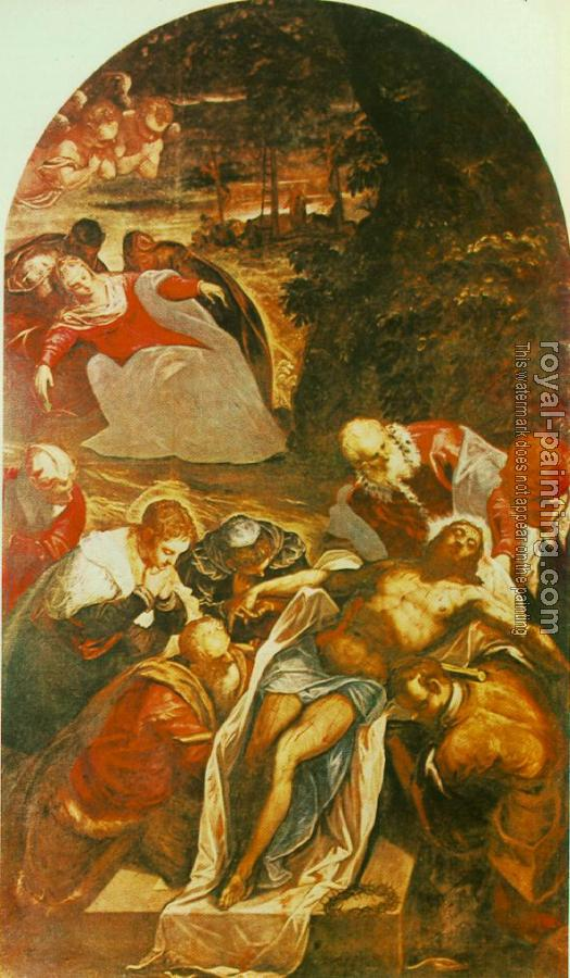 Jacopo Robusti Tintoretto : Entombment