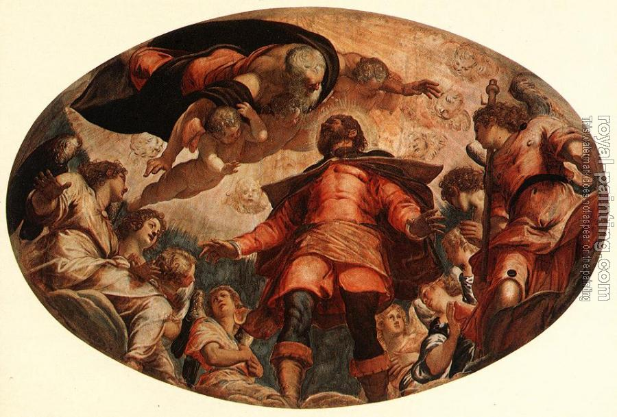 Jacopo Robusti Tintoretto : Glorification of St Roch