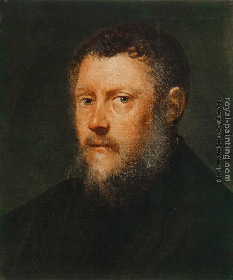 Jacopo Robusti Tintoretto : Portrait of a Man