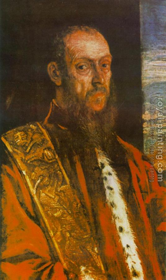 Jacopo Robusti Tintoretto : Portrait of Vincenzo Morosini