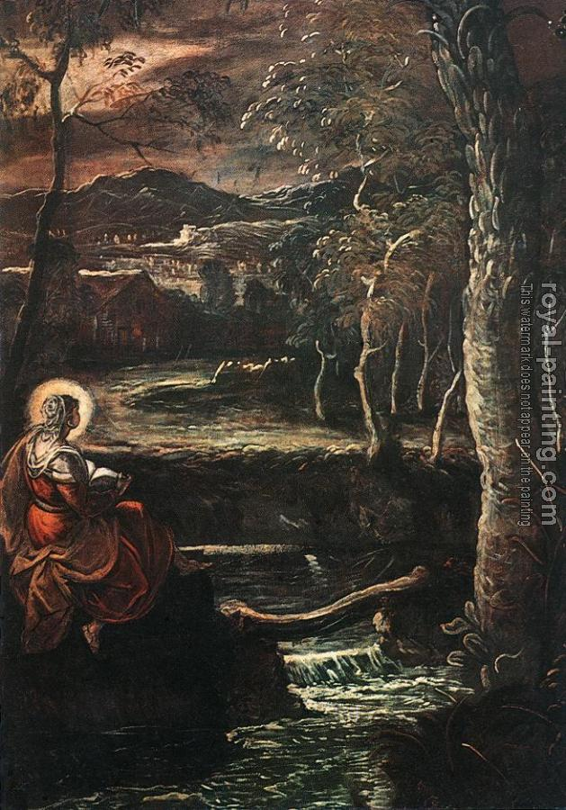 Jacopo Robusti Tintoretto : St Mary of Egypt