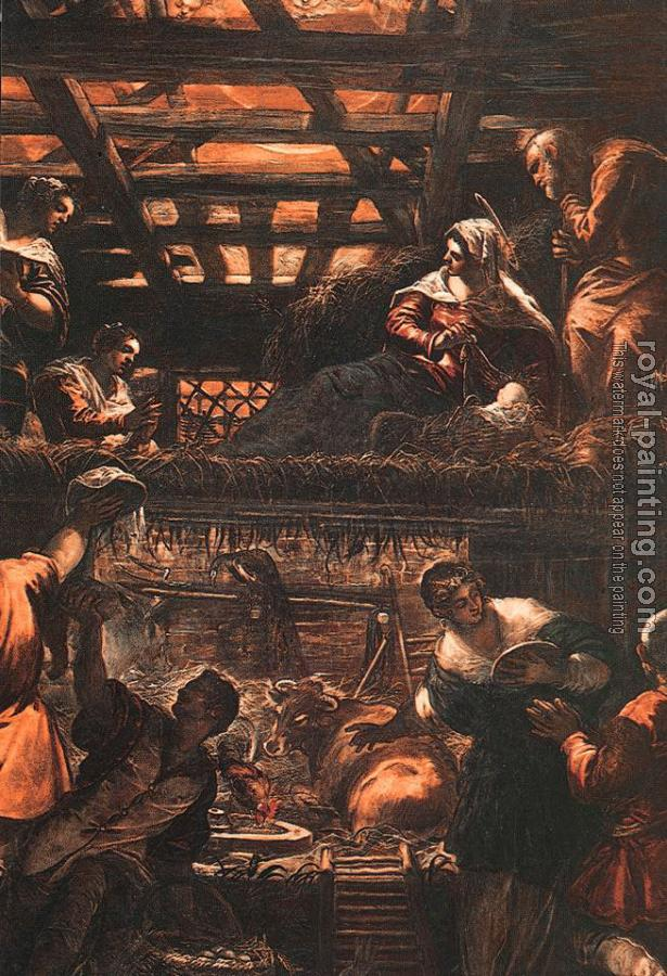 Jacopo Robusti Tintoretto : The Adoration of the Shepherds