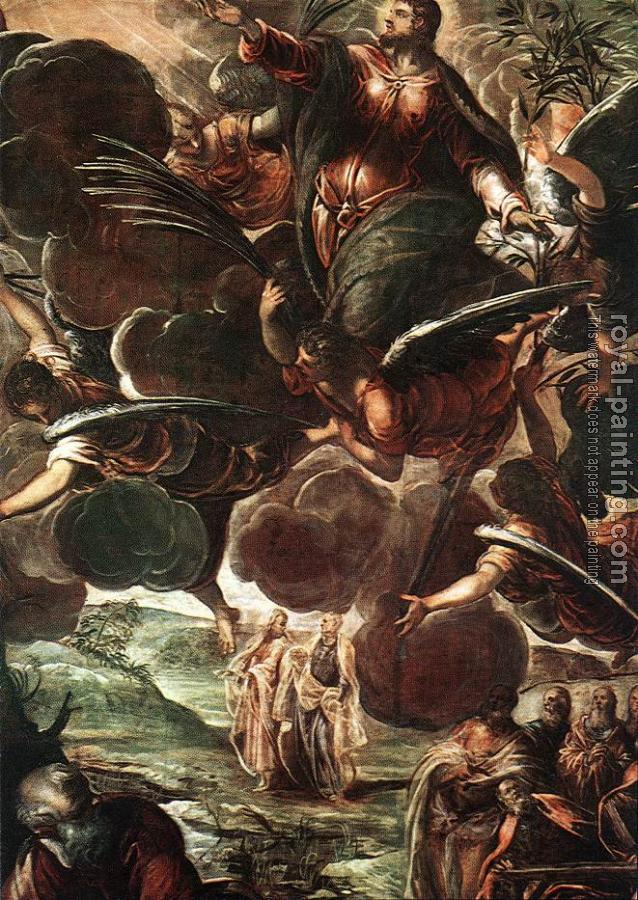 Jacopo Robusti Tintoretto : The Ascension detail