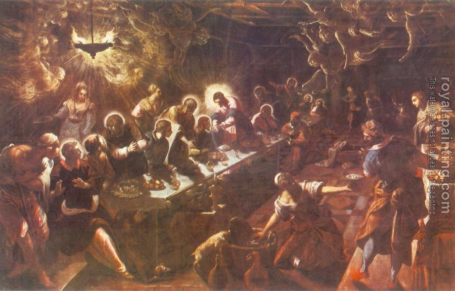 Jacopo Robusti Tintoretto : The Last Supper