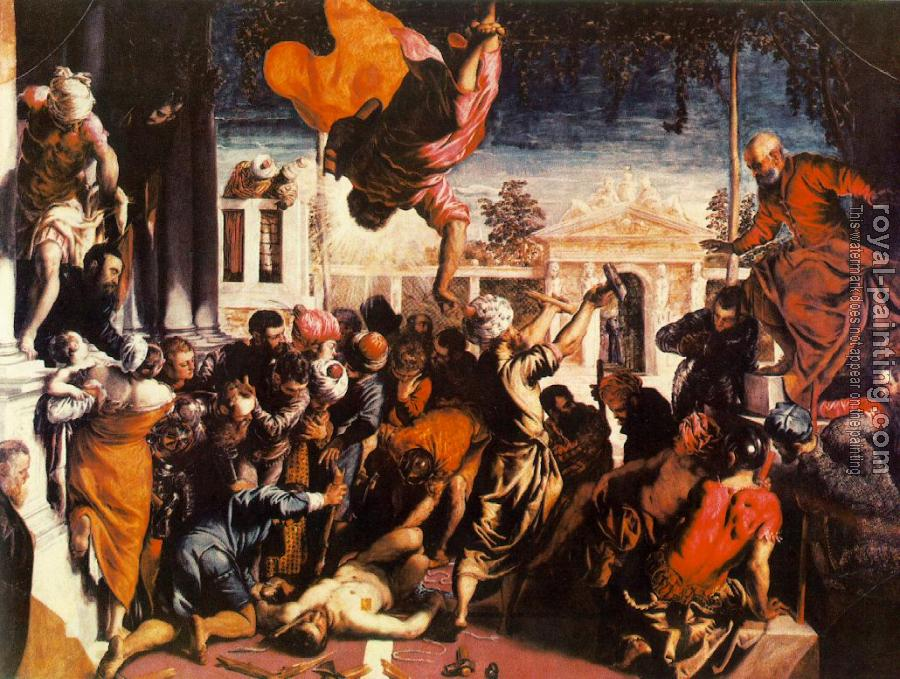 Jacopo Robusti Tintoretto : The Miracle of St Mark Freeing the Slave