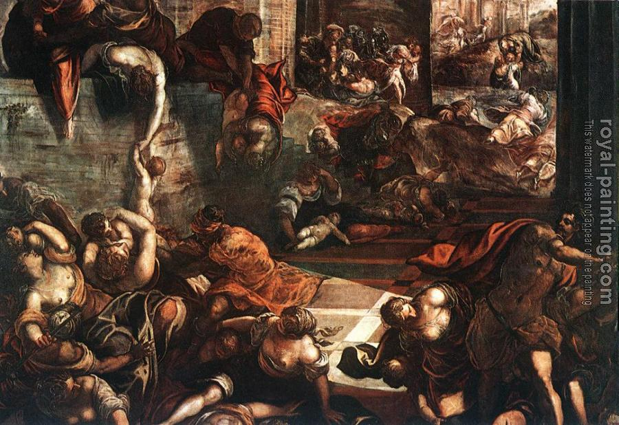 Jacopo Robusti Tintoretto : The Slaughter of the Innocents