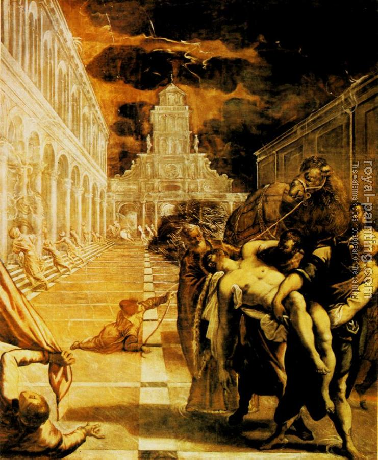 Jacopo Robusti Tintoretto : The Stealing of the Dead Body of St Mark