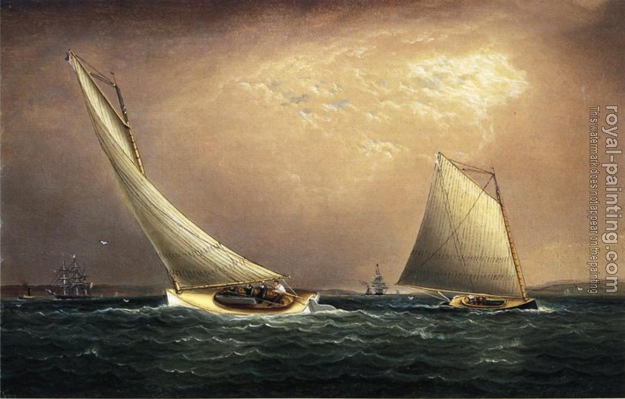 James E Buttersworth : New York Bay