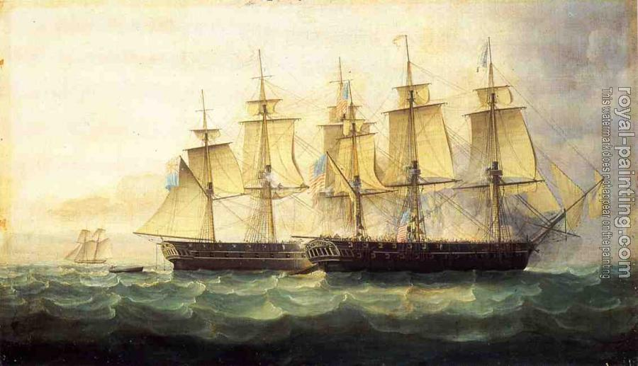James E Buttersworth : The USS Chesapeake and the HMS Shannon