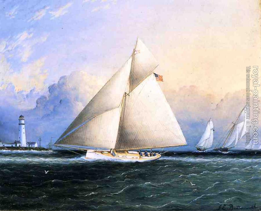 James E Buttersworth : Yacht Race