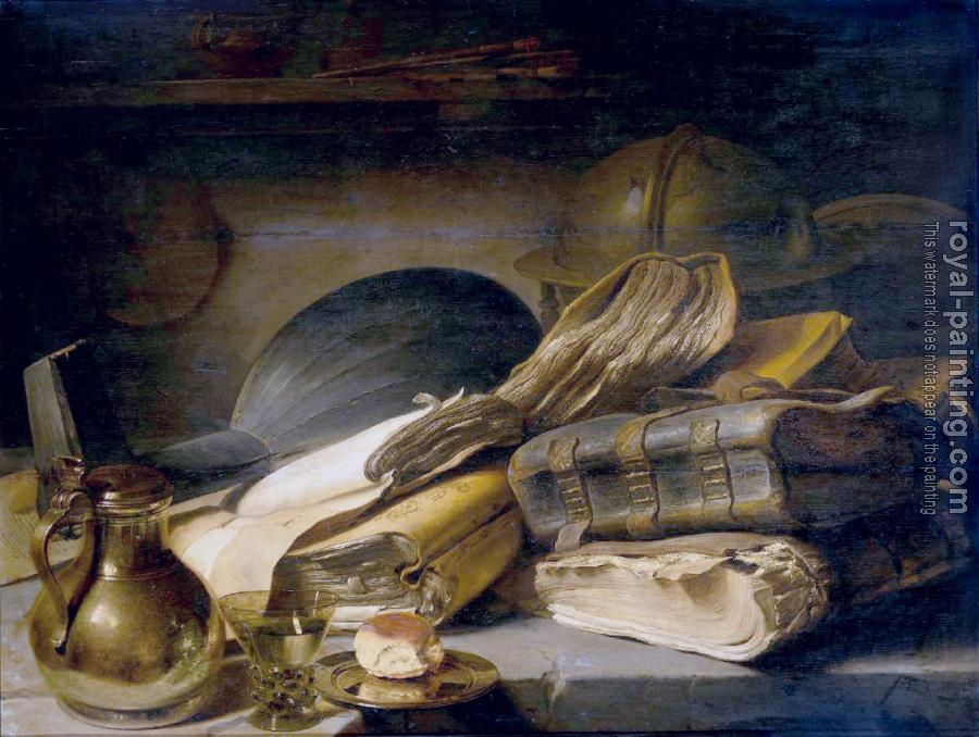 Jan Lievens : Still Life with Books