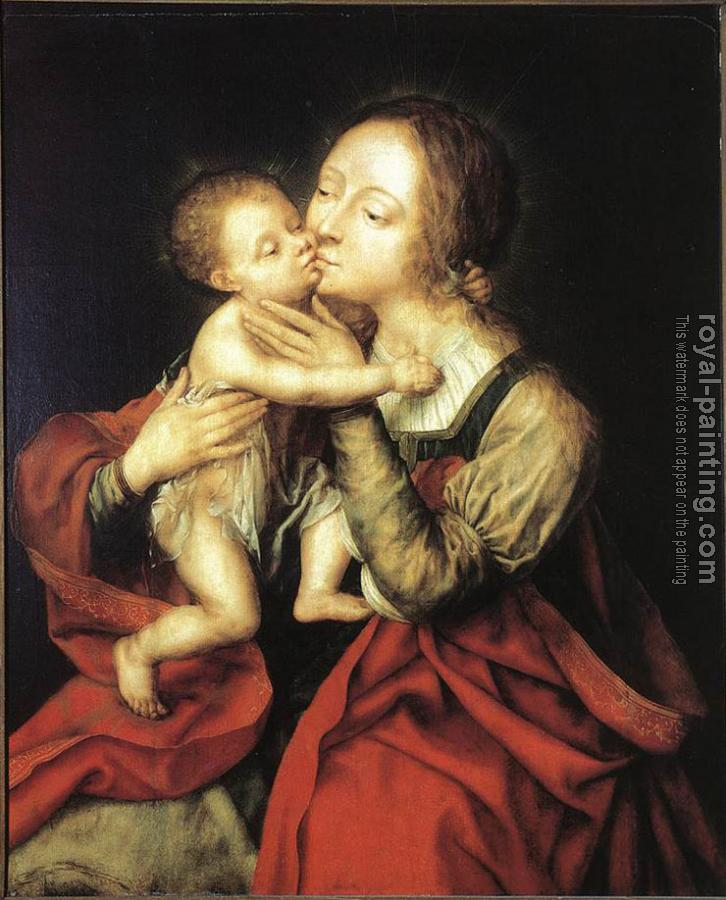 Jan Massys : Holy Virgin and Child