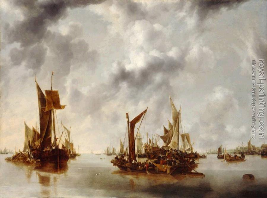 Jan Van De Capelle : A Calm