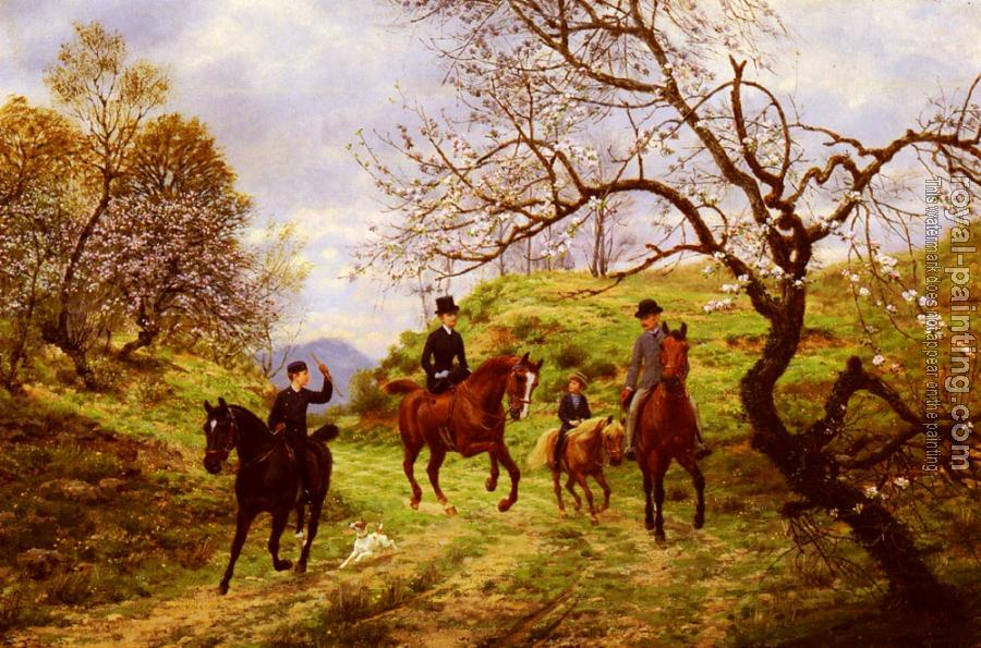Jean Richard Goubie : Outing in the country