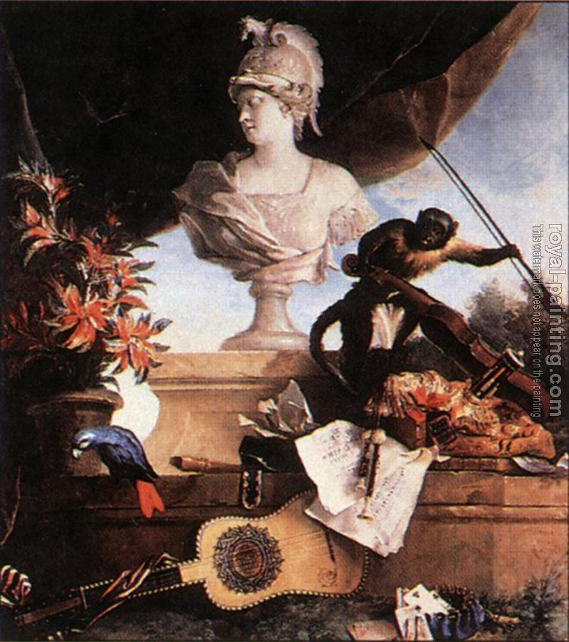 Jean-Baptiste Oudry : Allegory Of Europe