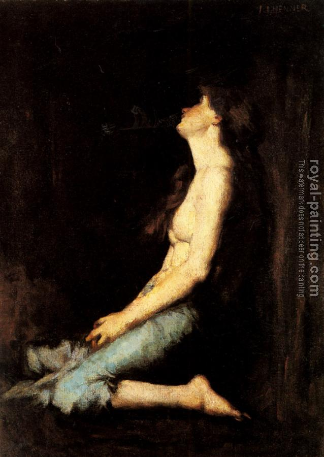 Jean-Jacques Henner : Solitude