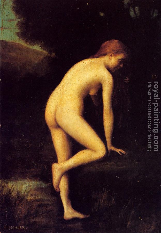 Jean-Jacques Henner : The Bather