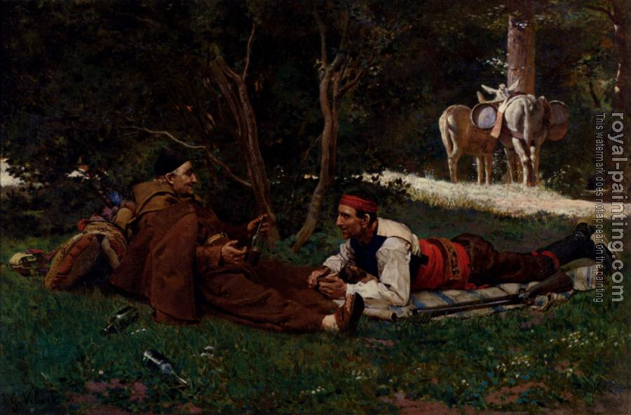 Jehan Georges Vibert : An Afte