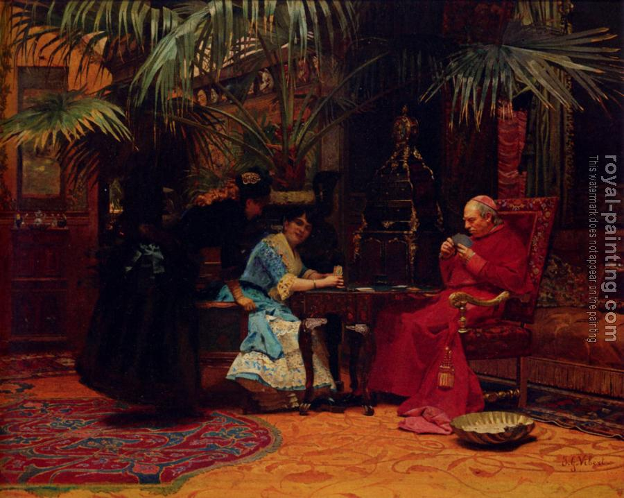 Jehan Georges Vibert : The Chu