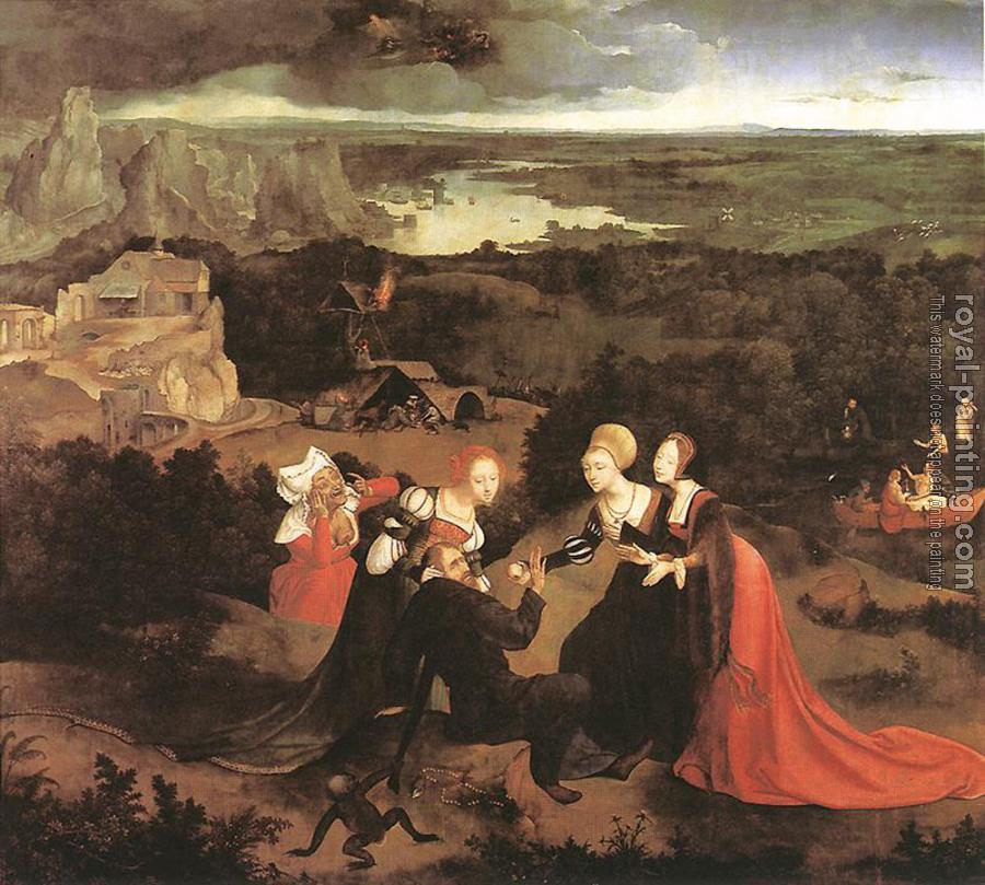 Joachim Patinir : Temptation Of St Anthony