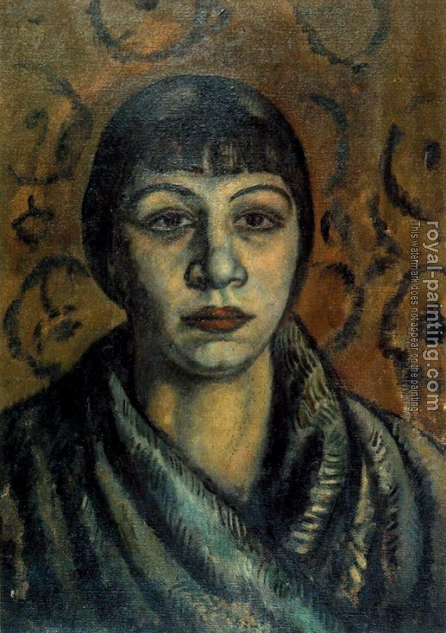 Joaquim Sunyer De Miro : Portrait of a Woman