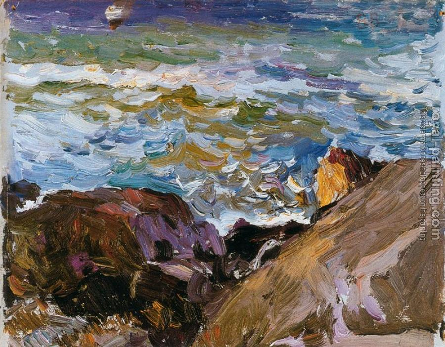 Joaquin Sorolla Y Bastida : Sea at Ibiza