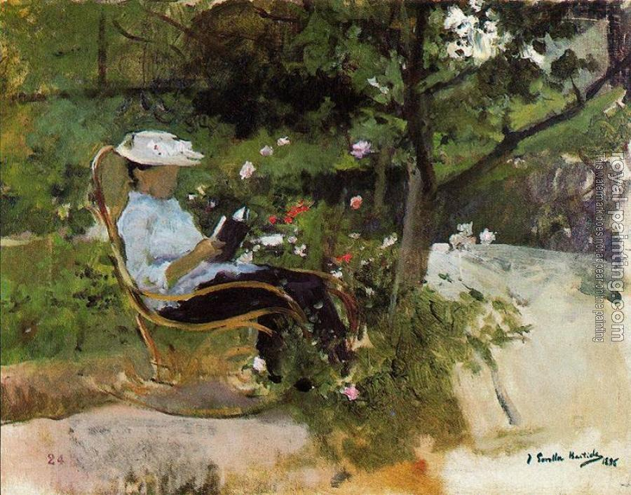 Joaquin Sorolla Y Bastida : In the Garden