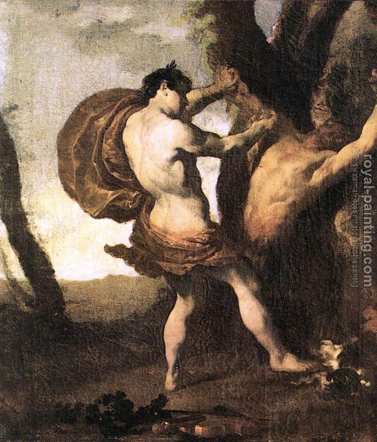 Johann Liss : Apollo And Marsyas