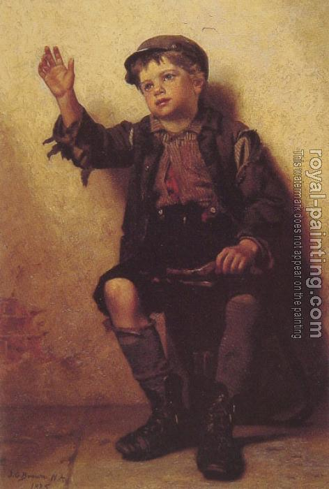 John George Brown : Shoeshine Boy