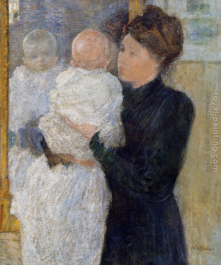 John Henry Twachtman : Mother and Child
