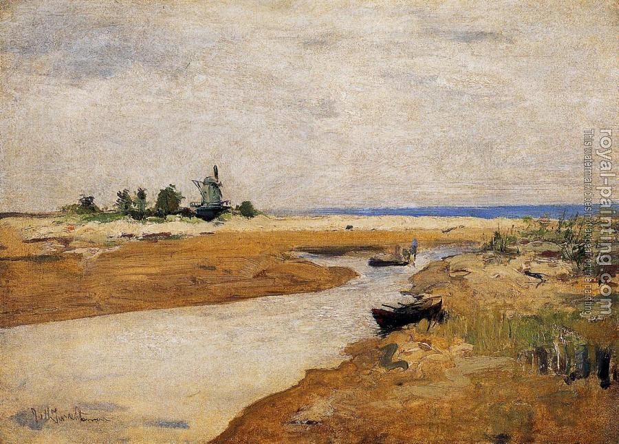 John Henry Twachtman : The Inlet