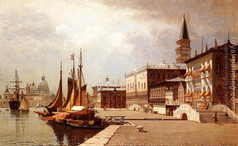 John Joseph Enneking : Venice at Midday