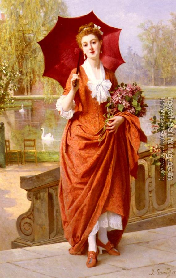 Joseph Caraud : The Red Parasol