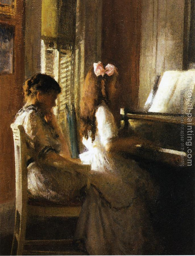 Joseph R DeCamp : The Music Lesson