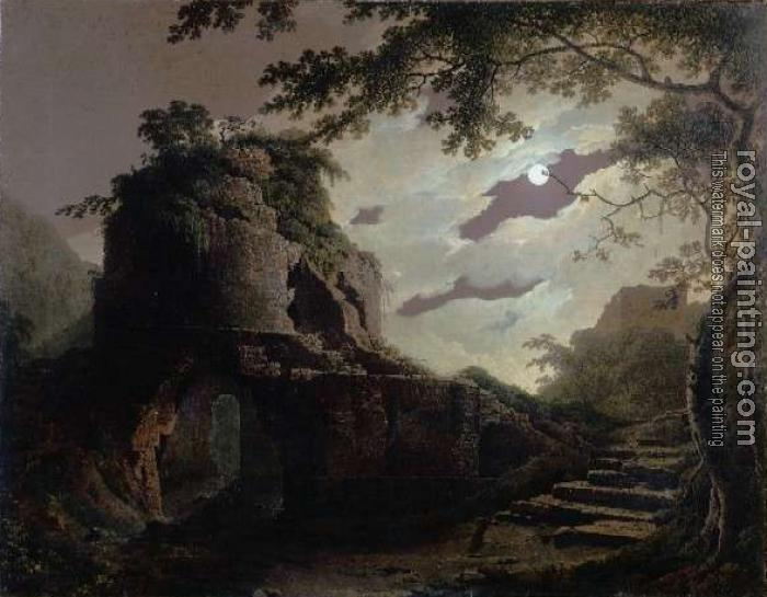 Joseph Wright Of Derby : Virgil's Tomb