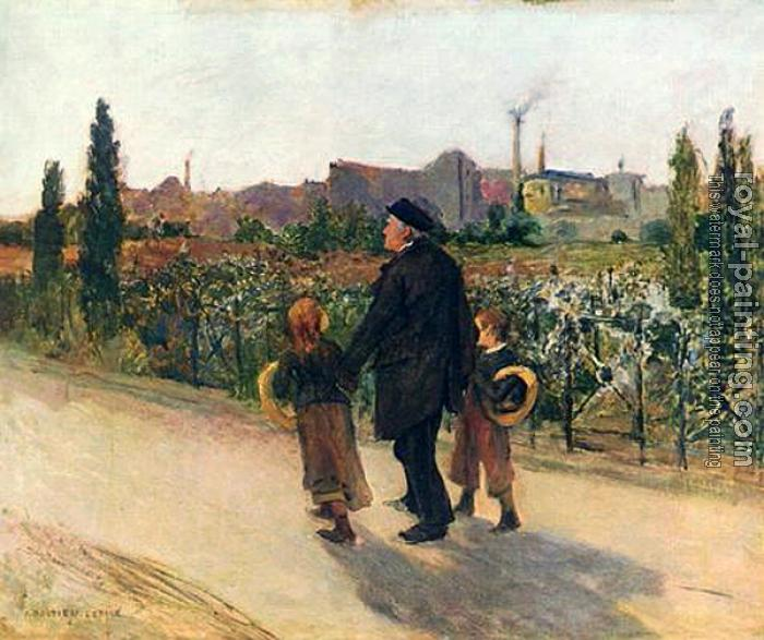 Jules Bastien-Lepage : all souls day