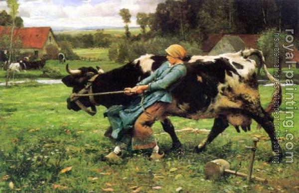 Julien Dupre : In the Pasture