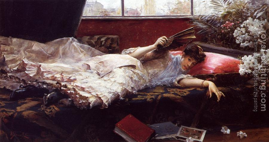 Julius LeBlanc Stewart : An Idle Afternoon