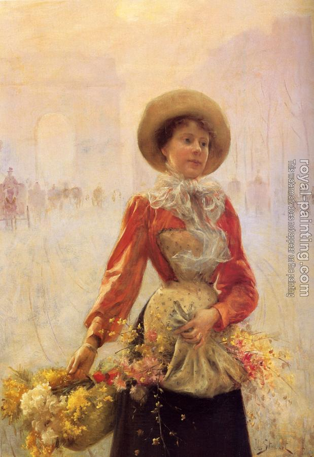 Julius LeBlanc Stewart : Flower Girl
